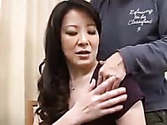 Japanese porn clips - busty milf tube