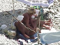Beach sex videos - blonde milf fucking