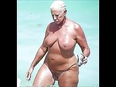 Vidéos de sexe de plage - putain milf blonde